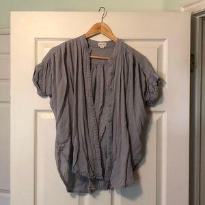 Blue Button up shirt size S